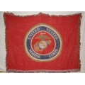 "US Marine 48""x60"" Throw Blanket"